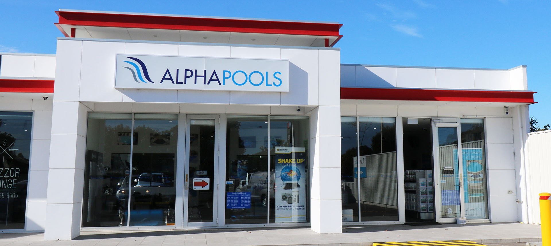 alpha pools shop